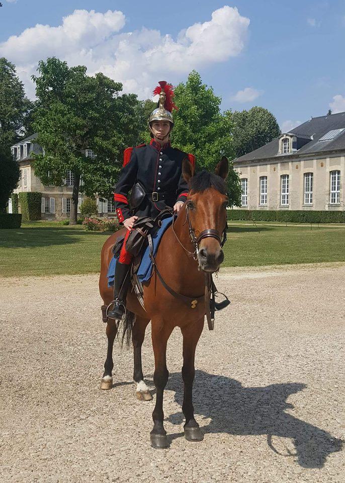 Brigadier AXEL aux Ecuries Royales