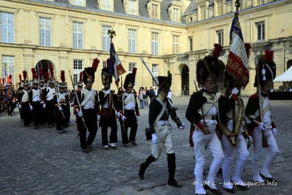 Les Adieux de Fontainebleau 3