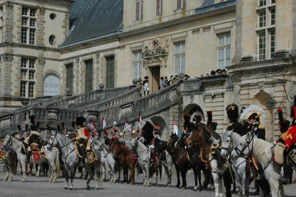 Les Adieux de Fontainebleau 1