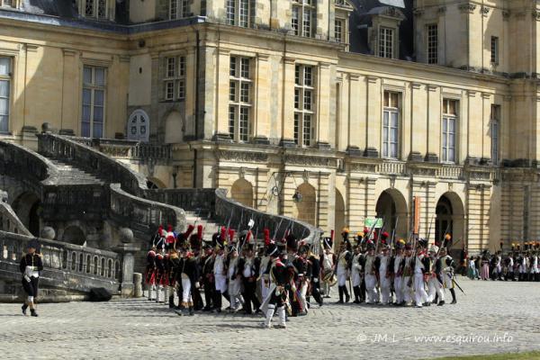 Les Adieux de Fontainebleau 4