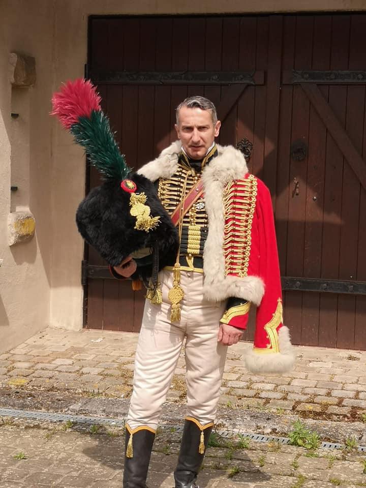 Olivier DUAULT en Chasseur de la Garde