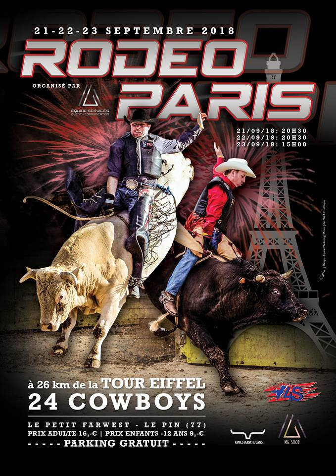 Rodeo bull petit far west 2018